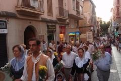 Festes d\'Estiu 2011 - Desfilada i ofrena floral