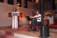 Concert del Duet Embat a la Parròquia de Sant Sebastià