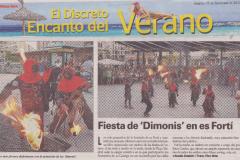 Festes d\'estiu 2012 - 10 - CORREFOC DIMONIS KINFUMFA, XEREMIERS I SETZE CORDES