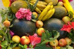 Festes d'estiu 2014-ofrena de flors i fruits