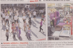 Jornada Solidària i Esportiva 2012